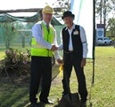 Bankfoot House sod turning