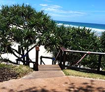 New stairs at Coolum Beach access 81