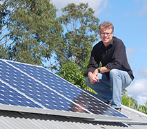 Mark Leckenby, CEO of Auzion. Sunshine Coast based cleantech company. Clean technologies.