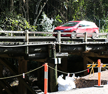 New bridge on Eumundi Range Road Sunshine Coast Council