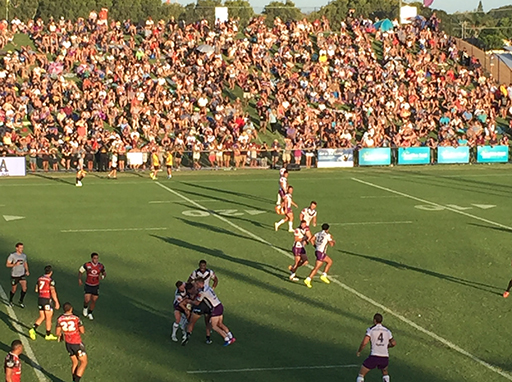 Storm v Warriors