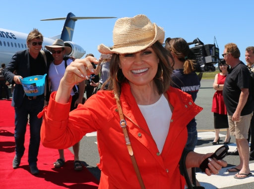 Today Show arrival Lisa Wilkinson