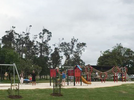 Playground at Muller Park
